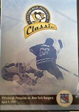 Pittsburgh Penguins Classic vs New York Rangers April 9 1993 DVD NEW Sealed