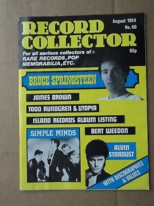 Record Collector #  60 august 1984  bruce springsteen