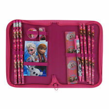 New 13pc Hot Pink Disney Frozen Anna Elsa Pencils Pen Stationery School Supplies