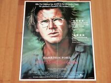 ORIGINAL MOVIE POSTER THE MOSQUITO COAST 1987 UNFOLDED DUTCH A1 SHEET