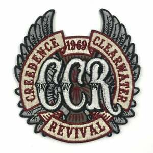 Creedence Clearwater Revival 1969 CCR Wings Embroidered Patch