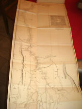 ROYAUME D' AVA BIRMANIE BIRMAN Carte Map River IRRAWADY ou IRARATTY 1800