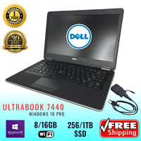 DELL LAPTOP LATiTUDE e7440 Ultrafast Intel i5 i7 Grade A Business Class WIN10