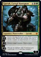 1x Garruk, Cursed Huntsman - Foil NM, English MTG Throne Of Eldraine