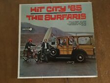 HIT THE CITY '65  THE SURFARIS DL 4614 LP RECORD DECCA ALBUM MICROGROOVE