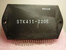 STK411-220E / IC / SIP / 1 PIECE (qzty)