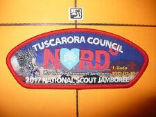 2017 JSP, BSA National Jamboree,Tuscarora Council,NORD,RED,OA 296,North Carolina