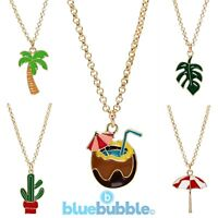 Bluebubble SUMMER LOVE Necklace Funky Fun Holiday Cute Kitsch Retro Sweet Kawaii