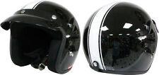 Viper Gloss Open Face Motorcycle Vehicle Helmets