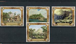 Pitcairn Islands 2015 MNH Pitcairn on Canvas 4v Set Paintings Art Ships Beechey