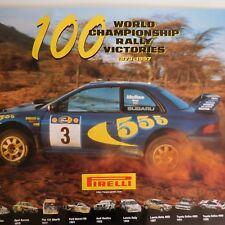 3 posters SUBARU IMPREZA 555 1997 SAFARI RALLY PIRELLI WORLD CHAMPIONSHIP N2238