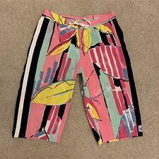 Vintage Billabong Men's Cotton Long Board Shorts, Surfing Short, Size 32 Waist
