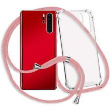 """Handykette Hülle Band Neck Case Cover Schutzcase für OnePlus 6T (6.4"""") - rosa"""