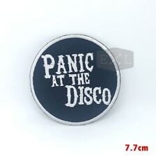 Panic At The Disco Iron On Shirt Bag Jacket Badge Embroidered Patch
