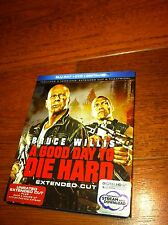 A Good Day to Die Hard Blu-ray/DVD 2-Disc Set Extended Cut