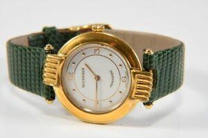 k48e09- Bucherer Paradiso Armbanduhr m. Wechselband und -lunette