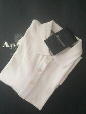 BNWT Aquascutum White Polo Shirt Size XS