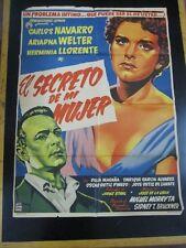 """El Secreto de mi Mujer"" - Orig. Theatr. Poster, '55 / 36 1/2"" x 26 5/8"", G-VG"