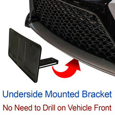 LICENSE PLATE BRACKET tag holder hidden sto mounting holes no drill sho 2018 n