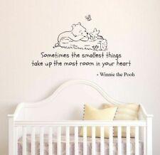 Winnie The Pooh Aufkleber Wandaufkleber Perfekt Kinderzimmer Baby Kinder
