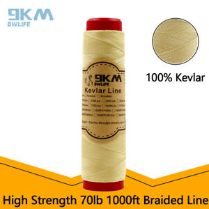 Braided Kevlar Sewing Thread 1000ft 0.35mm-0.7mm High Strength Made with Kevlar