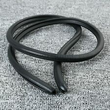 2Pc 0.8m B Pillar Rubber Seal Strip Decorate Weather strip Hollow For Car Truck