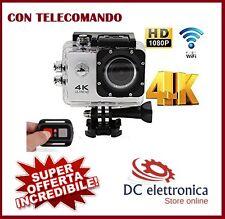4K Ultra HD Telecamera WiFi Sport Action Camera 16MP Videocamera Subacquea Pro