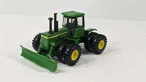 Ertl John Deere 8630 Tractor with Blade Diecast 1:64 Scale - No Box