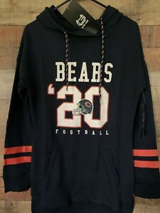 WOMEN'S NFL CHICAGO BEARS TEAM APPAREL HOODIE SMALL NWT