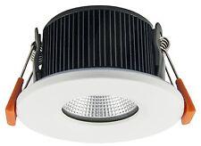 6w Led Fuego nominal empotrado Downlight de techo reflector Acabado Blanco 3000k A +