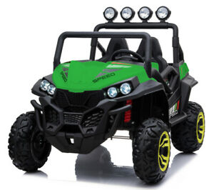 Beach Buggy Speed, 24V Electric Ride On Toy for Kids - Green