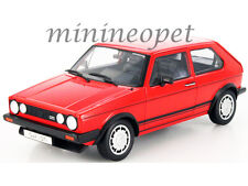 WELLY 18039 1983 83 VW VOLKSWAGEN GOLF 1 GTI 1/18 DIECAST MODEL CAR RED