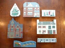 Cats Meow Village Christmas Lot of 7 Buildings & accessories. Start at $11.95