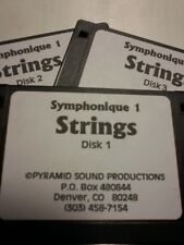 Kurzweil ~ Symphonique 1 ~ Strings ~ Native Krz ~ 100 Vast Programs~3 Disks!