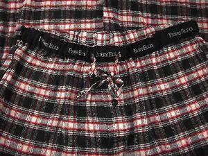 Perry Ellis Portfolio Men's Lounge Pants Soft Comfortable Checks Size L