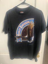 New listing Vtg Harley Davidson 3D Emblem Shirt Large