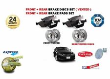 FOR LEXUS IS250 IS250C 2005-2013 NEW FRONT + REAR BRAKE DISCS SET + DISC PAD KIT