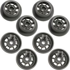 8 x Dishwasher Rack Roller Wheels For Bosch Neff  AP2802428 PS3439123 00165314