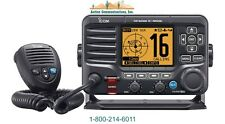 New Icom M506 21, Vhf, 25W, Ipx8 Class D Dsc Marine Radio With Nmea2000 And Ais