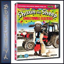 SHAUN THE SHEEP - CHRISTMAS BLEATINGS **BRAND NEW DVD**