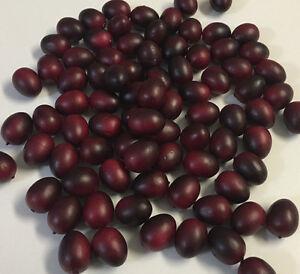 Artificial Cranberry Fruit Bag of 72 Fake Cranberry Berries Fake Cranberries