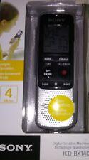 Registratore Vocale Sony Icd-bx140 4gb Icdbx140.ce7