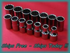 Craftsman Socket Set 14 Piece 1/2
