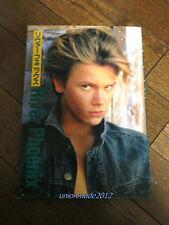 Rare RIVER PHOENIX Photo Book Cine Album 1993 Japan Limited book VTG stand by me