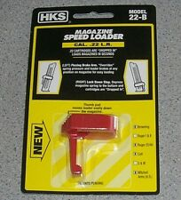 HKS 22-B 22B Magazine Speed Loader .22 Long Rifle - Ruger Browning Colt Mitchell