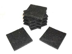 150x Rubber Anti Vibration and Sound Deadening Pads
