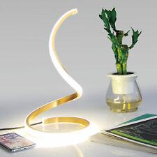 NUUR Table Lamp Curved Desk Light Bedside Bedroom Lamp Warm Creative Spiral LED