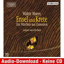 Hörbuch-Download (MP3) ★ Walter Moers: Ensel und Krete