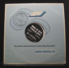 Glen Kensinger, Jule Miller - Book Of Acts LP Mint- No. 121 Mono Vinyl Record