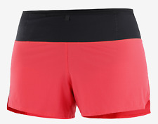 2020 Salomon Women's Sense Short Running Shorts Cayenne